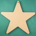 Звезда, заготовка для фотоальбома 25х25см картон 1,5мм 6листов без кольца ЛЗ
