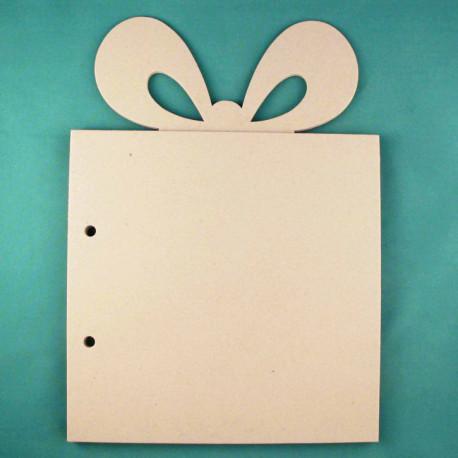 Подарок, заготовка для фотоальбома 20х28см картон 1,5мм 6листов без колец ЛЗ