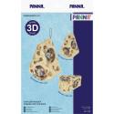 Сыр для мышек, набор для вышивания крестиком объемной игрушки, 10х7х5,5см, 18цветов Panna