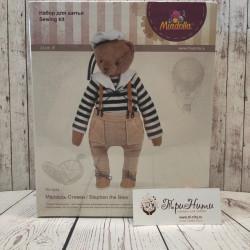 Медведь Стивен, набор для шитья 23см. Miadolla