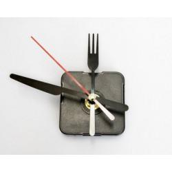 Часовой кварцевый механизм плавного хода со стрелками (вилка, ножик), длина штока 12мм