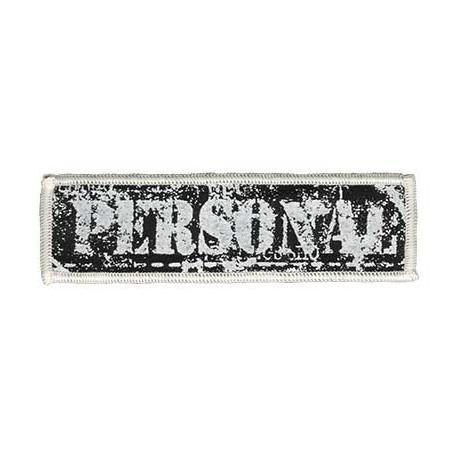 Personal, 11х3см, аппликация на клеевой основе