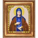 Фотина (Светлана), ткань с рисунком для вышивки бисером 20х25см. Благовест