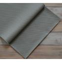 Серый в квадратик, кожа искусственная 33х69(±1см) плотность 440 г/кв.м.