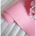 Розовый, кожзам Soft touch для скрапбукинга 33х70(±1см) толщина 0,8мм