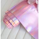 Ртутный розовый, кожзам для скрапбукинга 33х70(±1см)