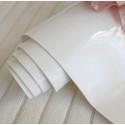 Ртутный белый, кожзам для скрапбукинга 33х70(±1см)