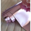 Ртутный сиреневый, кожзам для скрапбукинга 33х70(±1см)