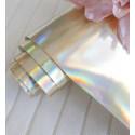 Ртутный золотой, кожзам для скрапбукинга 33х70(±1см)