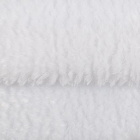 Яр.белый, плюш корейский ФАСОВКА 48х48(±1см), 446г/кв.м 100%полиэстер PEPPY