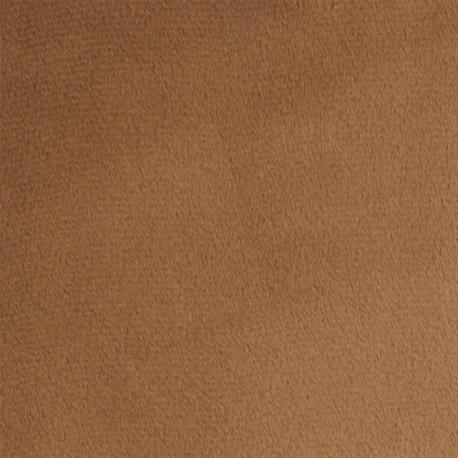 Св.коричневый, плюш корейский ФАСОВКА 48х48(±1см), 273г/кв.м 100%полиэстер PEPPY