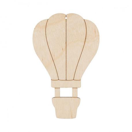 Воздушный шар, заготовка для декорирования фанера 3мм 7х11см Mr.Carving
