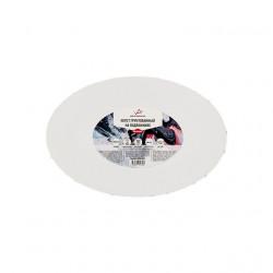 Холст грунтованный на подрамнике ОВАЛЬНЫЙ, 100% хлопок, 20х30см, 280 г/кв.м. Vista-Artista