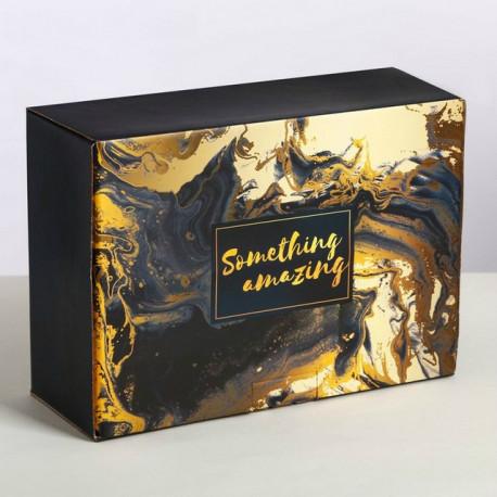 Something amazing, коробка складная 26х19х10см картон АУ