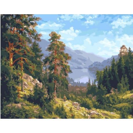 Родимый край, картина по номерам на холсте 40х50см 27цв Original