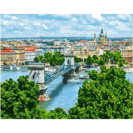 Венгрия, картина по номерам на холсте 40х50см 26цв Original