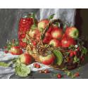Щедрые дары природы(Е. Калиновская), картина по номерам на холсте 40х50см 24цв Original