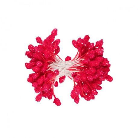 Красный, тычинки для цветов, 85шт. Fiorico