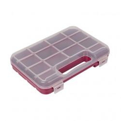 Коробка пластик для швейных принадлежностей 14ячеек, 24.5х18х4.5см