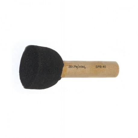 Кисть-спонж круглая из поролона на деревянной ручке d40мм Mr. Painter