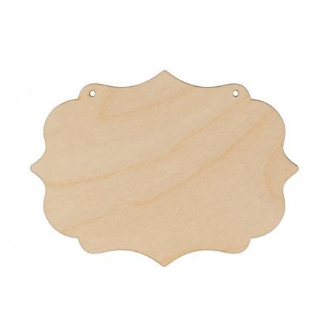 Панно №4(2шт), заготовка для декорирования фанера 4мм 15х11cм Mr.Carving