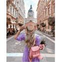 Пешеходный переулок, картина по номерам на холсте 40х50см 29цв Original