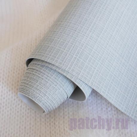 Серый, переплетный кожзам Zephyr для скрапбукинга 33х70(±1см) Италия