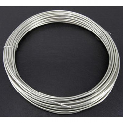 Под серебро, проволока для плетения d2мм 10м, Gаmma