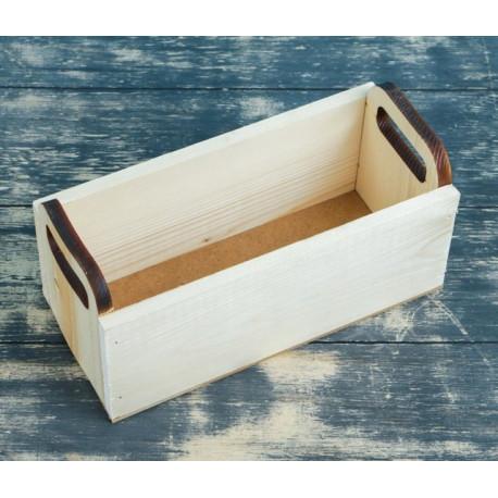 Ладья, ящик из массива сосны, 24,5х11х9,5см SL