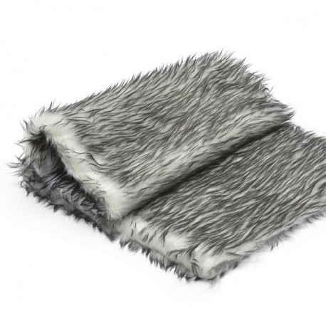 Серый, мех Ёжик 50х50(±1см)