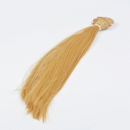"""Золотой блондин, трессы прямые """"Элит"""" ширина 50см, длина 30см уп.2 шт"""
