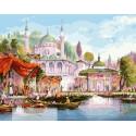 Стамбул, картина по номерам на холсте 40х50см 30цв Original
