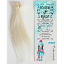 Двойной окрас, прямые волосы для кукол 20см на трессе 100см цв.№LSA005 SL