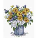 Мелодия аромата, набор для вышивания 17х19см 23цвета Жар-птица