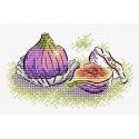 Сладкий инжир, набор для вышивания 9х13см 13цветов Жар-птица