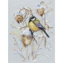 Снежная пора, набор для вышивания 21х30см 22цвета Жар-птица
