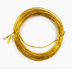 Под золото, проволока для плетения d1мм 10м, WW-art