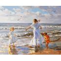 День на море, картина по номерам на холсте 40х50см 28цв Original