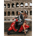 Итальянские каникулы, картина по номерам на холсте 40х50см 26цв Original