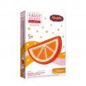 Кошелек Апельсинка, набор для шитья игрушки из фетра (пластиковая игла и перфорация на фетре)