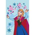 Храбрая Анна, набор для раскрашивания по номерам на картоне 20х30см