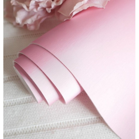 Розовый матовый шелк, кожа искусственная 33х69(±1см) толщина 1мм