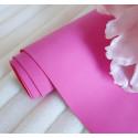 Фуксия, кожзам Soft touch для скрапбукинга 33х70(±1см) толщина 0,8мм