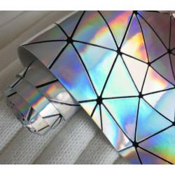 Лёд геометрия, кожа искусственная 33х69(±1см) толщина 0,5мм