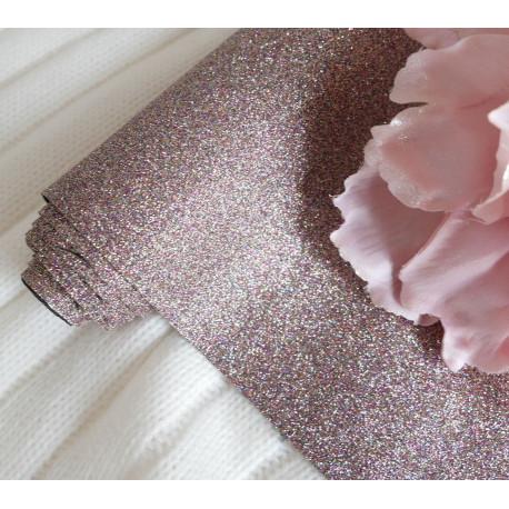 Попурри, глиттерная ткань для творчества 33х70(±1см)