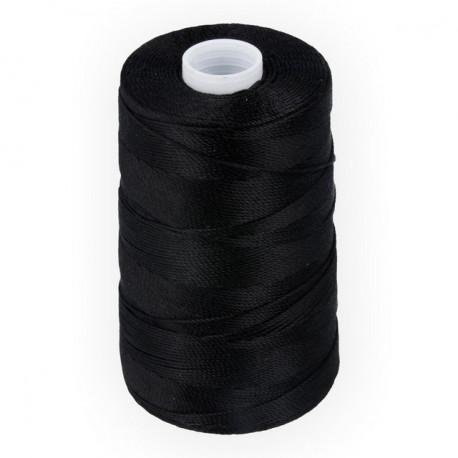 Черный, нить вощеная 375К 1м