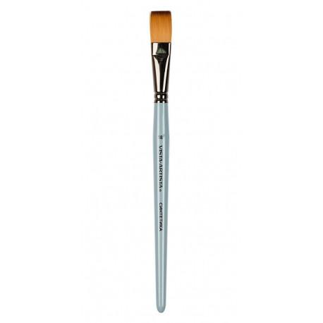 Плоская №18, кисть художественная синтетика ширина18мм длина24см VISTA-ARTISTA