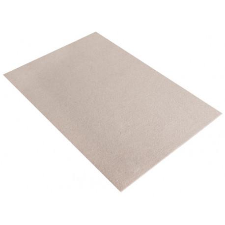 Серо-коричневый, фетр листовой 30х45см 4мм 100%полиэстер Rayher