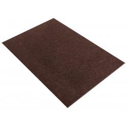 Коричневый темный, фетр листовой 30х45см 4мм 100%полиэстер Rayher