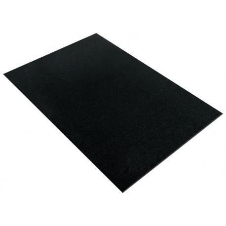 Черный, фетр листовой 30х45см 4мм 100%полиэстер Rayher